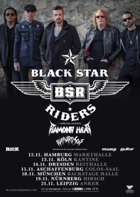 11 Black Star Riders Flyer
